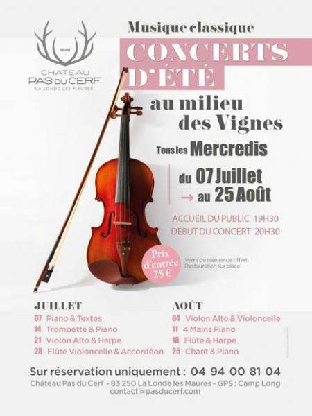Les concerts de musique classique